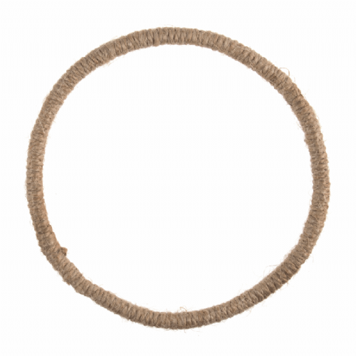 Wreath Base Jute Wrapped Wire 14cm 5.5in